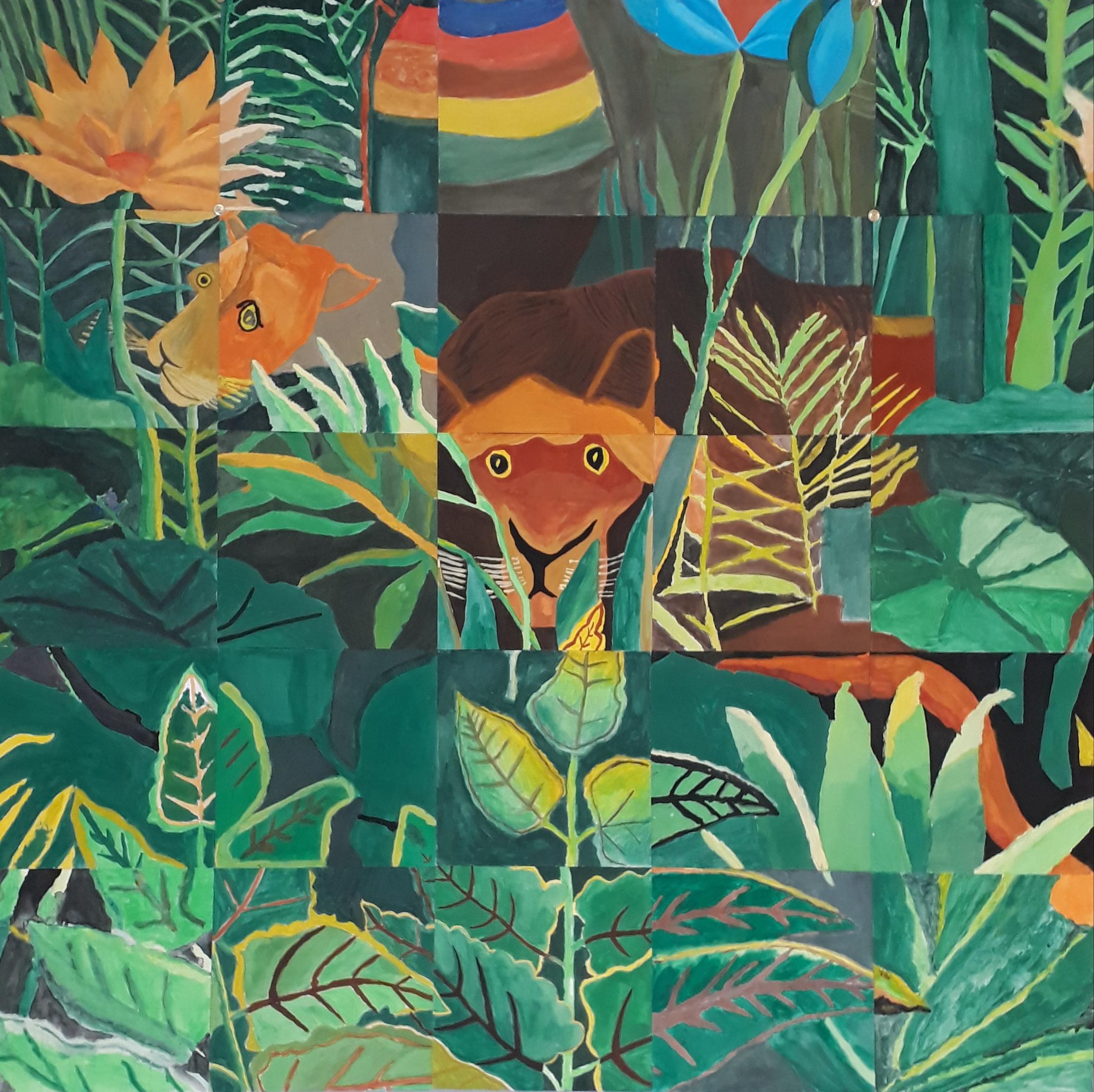 Gemeinschaftsarbeit zur Rousseaus der Traum